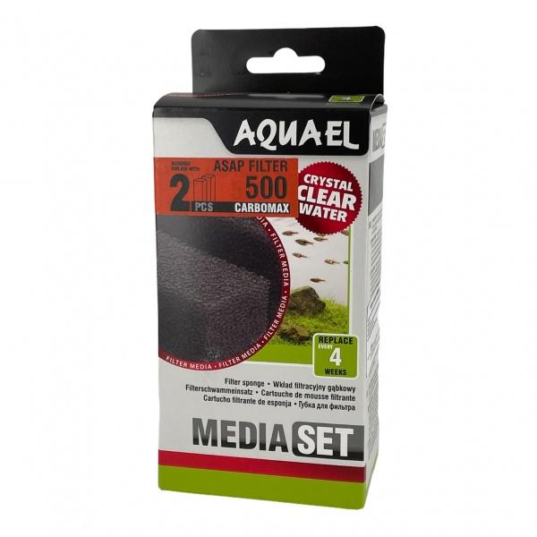 AquaEl Náhradní filtrační vložka uhlíková carbomax ASAP 500