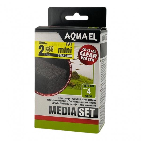 AquaEl Náhradní vložka 2ks pro filtr Pat MINI