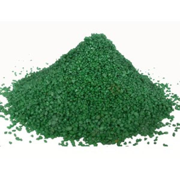Písek akvarijní 1 - 2 mm - zelený, 5kg