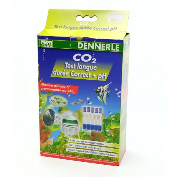 Dennerle Dlouhodobý test CO2 Correct + pH