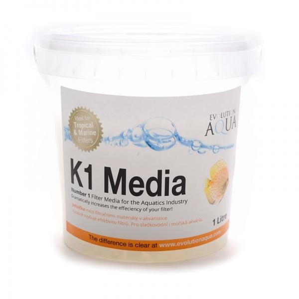 Evolution AQUA Kaldnes K1 filtrační médium 5000 ml
