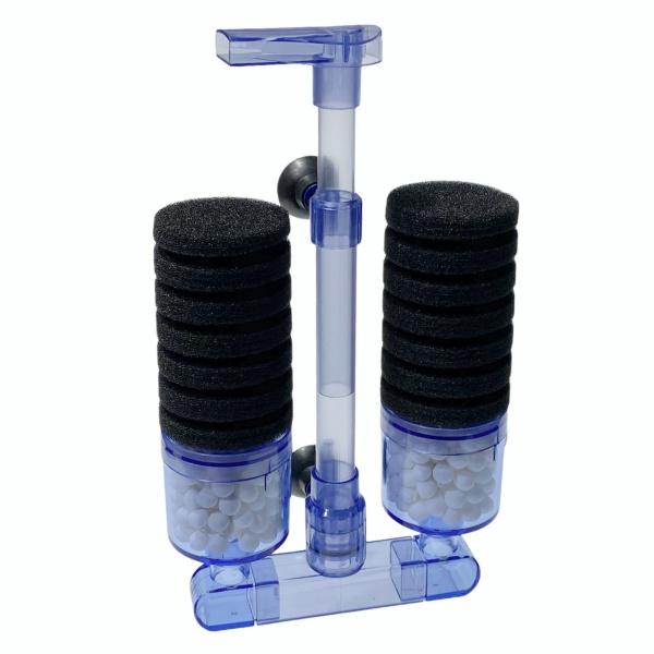 EasyFish Akvarijní biofiltr XY 2882 dvouramenný pro akvárium do 200 litrů