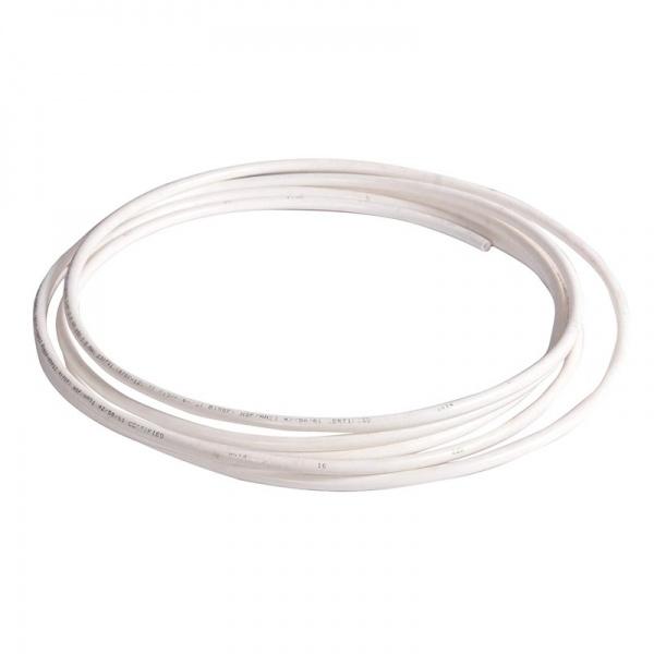 Vysokotlaká hadička 6/9 mm (3/8) pro RO (metráž) bílá