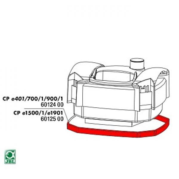 JBL Náhradní těsnění pod hlavu filtru CPe e1500, 1501, 1901, 1502, 1902