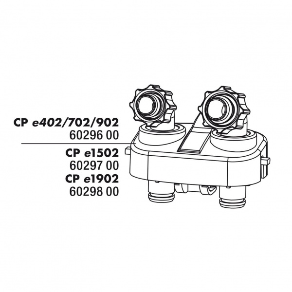 JBL Náhradní připojovací blok/adapter hadic k CristalProfi e1901, e1902