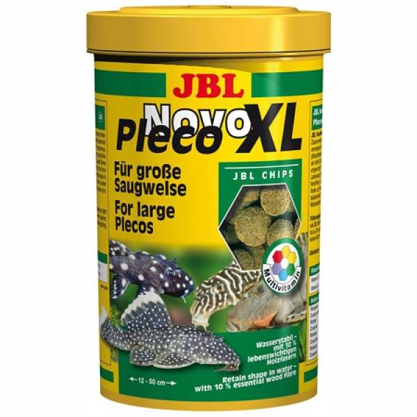 JBL NovoPleco Chips XL 1000ml