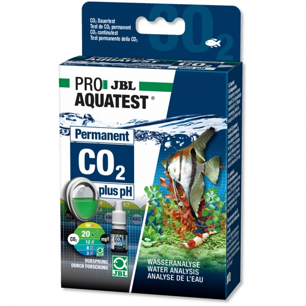 JBL PRO Aquatest Permanent CO2 plus pH