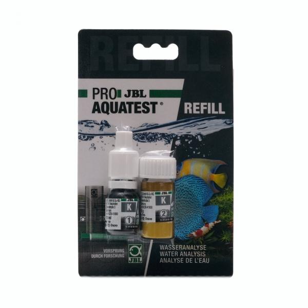 JBL PRO Aquatest náhradní náplň refill pro K test (draslík)