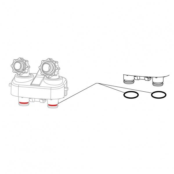 JBL Náhradní těsnění připojovacího bloku/adapteru CristalProfi e4/7/901,2