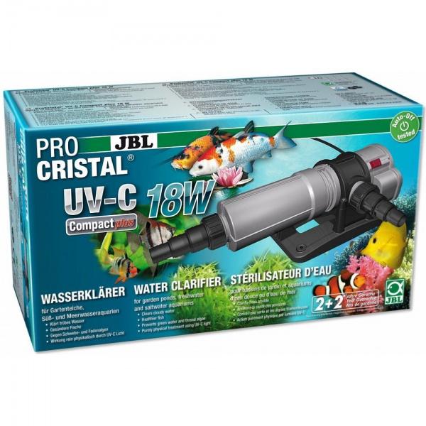 JBL ProCristal UV-C Compact plus sterilizátor 18W