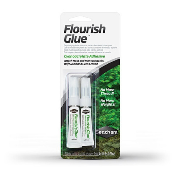 Seachem Flourish Glue lepidlo na mechy a rostliny blistr 4 g (2ks)
