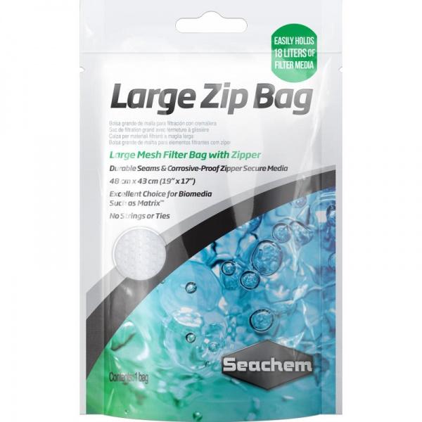 Seachem Zip Bag Large