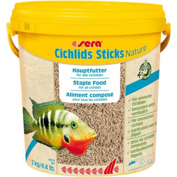 Sera Cichlids Sticks NATURE 10 l