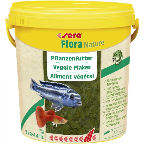 Sera Flora NATURE 10 l