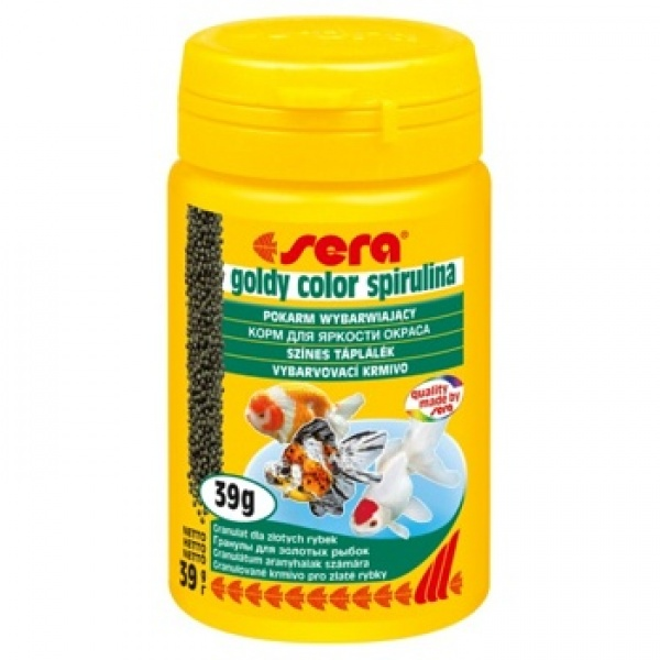 Sera Goldy color spirulina 100ml