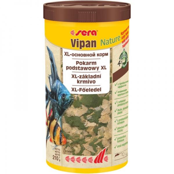 Sera Vipan NATURE 1000ml - velké vločky