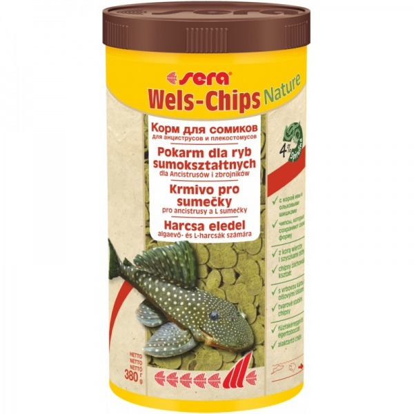 Sera Wels Chips NATURE 1000ml