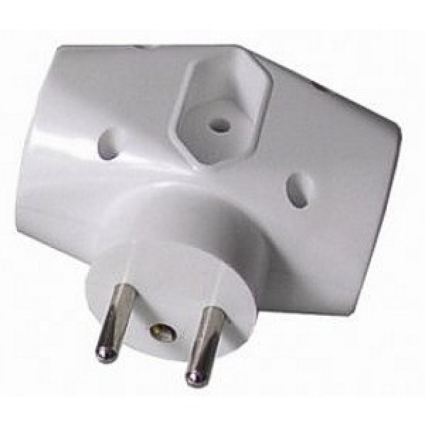 Solid Adapter 1x 2,5A + 2 x 10A