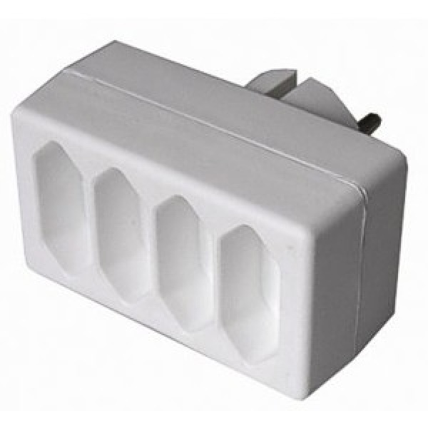 Solid Adapter 4 x 2,5A