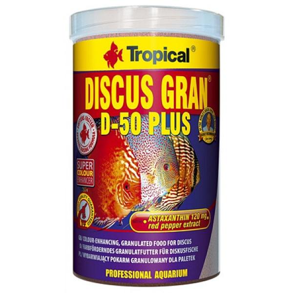 Tropical Discus Gran D-50 PLUS 1000ml