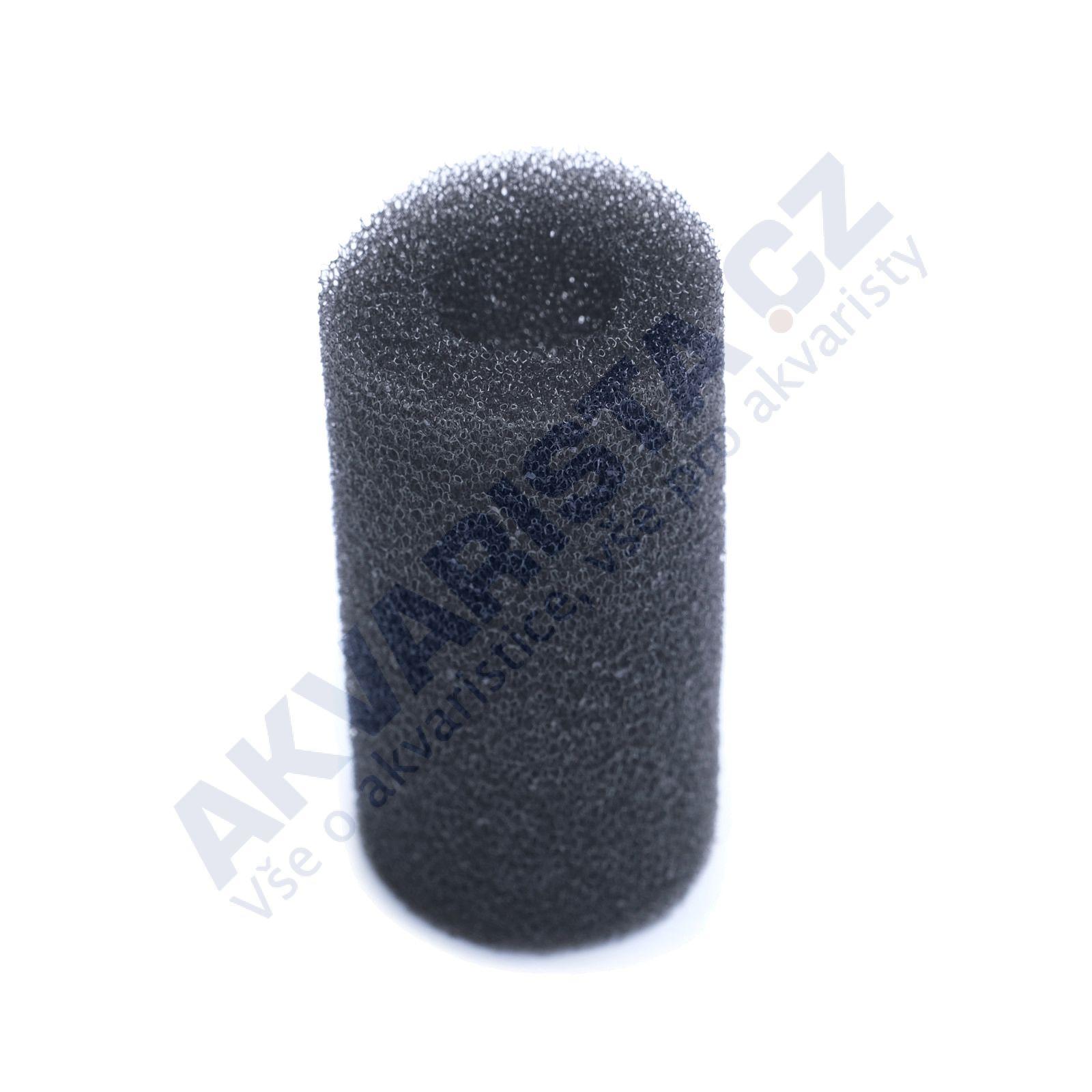 AKVARISTA.cz Předfiltrační černý biomolitan na sání filtru nebo čerpadla, malý (6cm) s velkou dírou