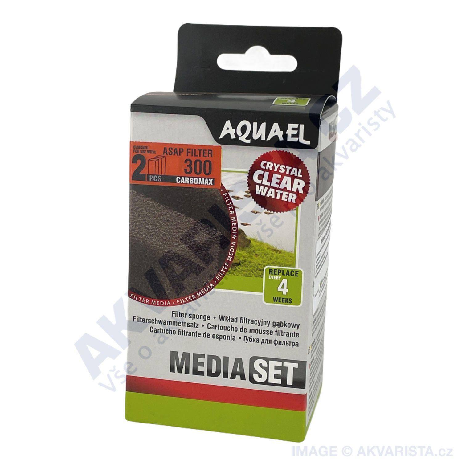 AquaEl Náhradní filtrační vložka uhlíková carbomax ASAP 300