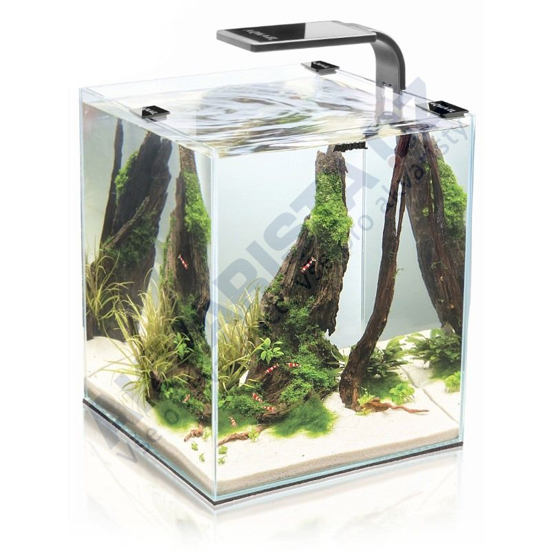 AquaEl ShrimpSet  LEDDY Smart 2 akvárium 30l černé