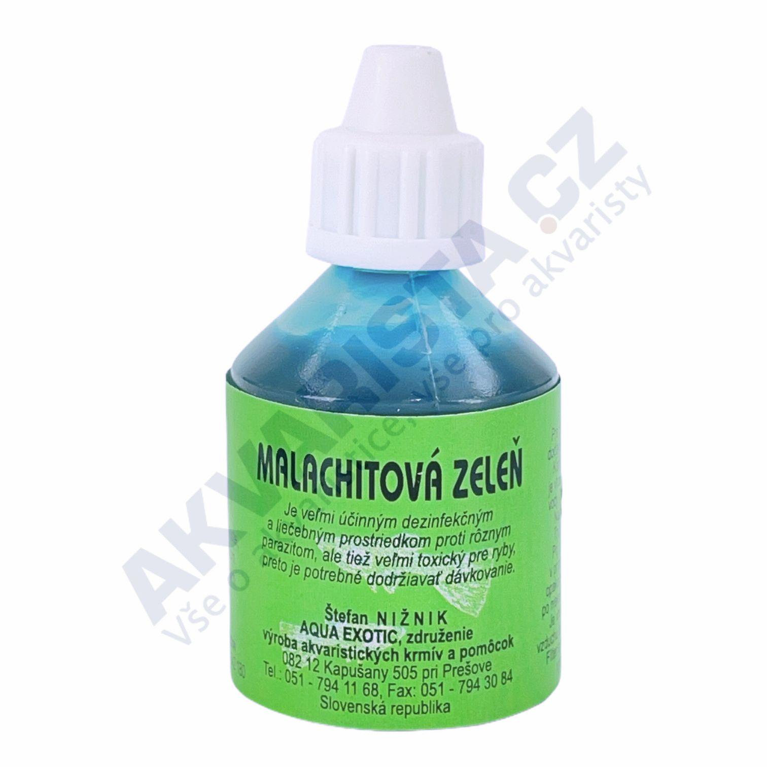 AquaExotic Malachitová zeleň 25 ml