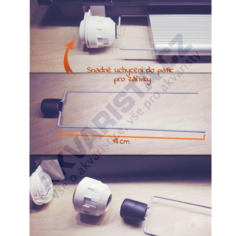 Chihiros LED A serie držáky do zářivkových úchytů