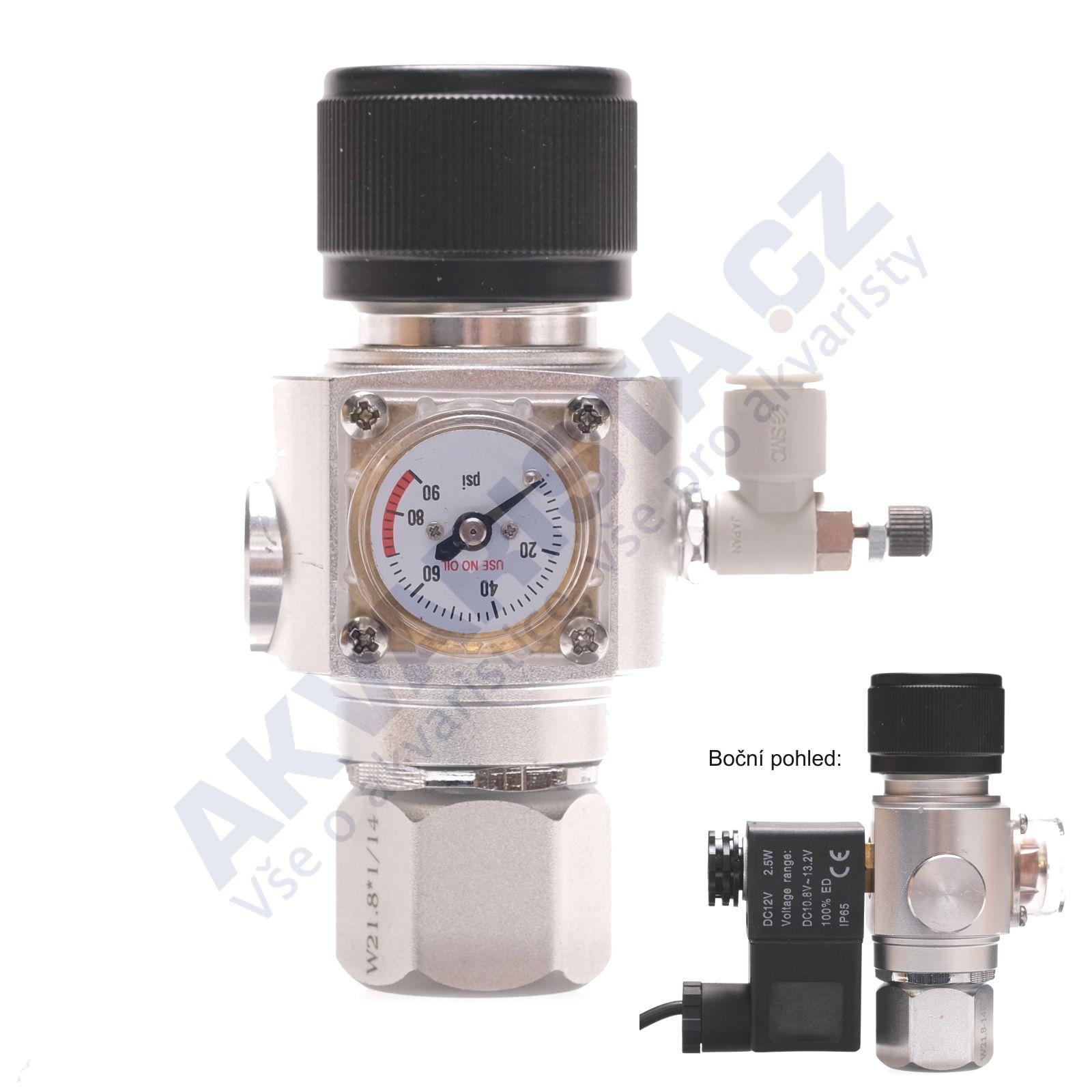 Chihiros Co2 redukční ventil kompletní s nočním vypínáním