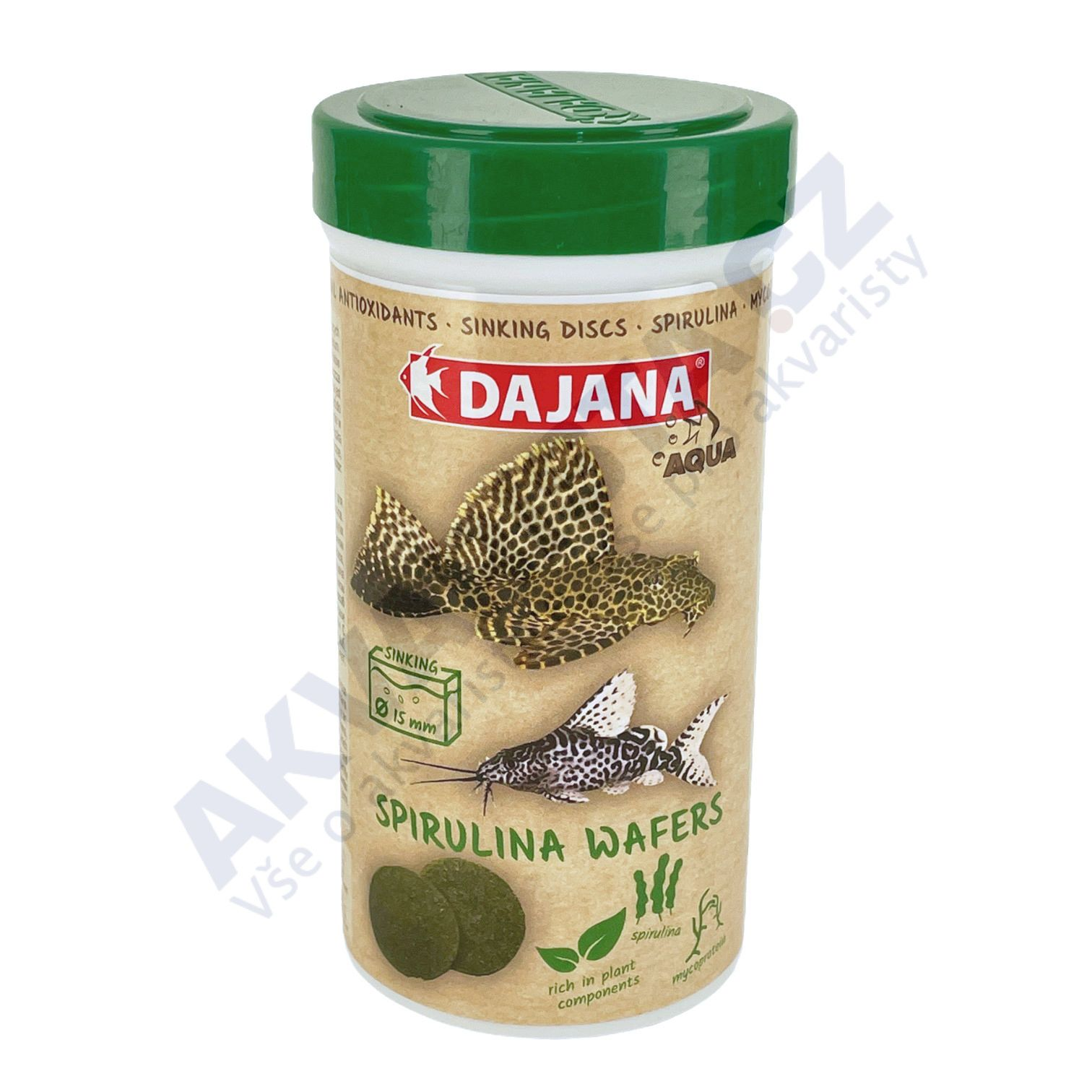 Dajana Spirulina Wafers 250ml