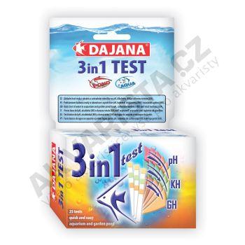 Dajana Test 3v1 (pH, GH, KH)