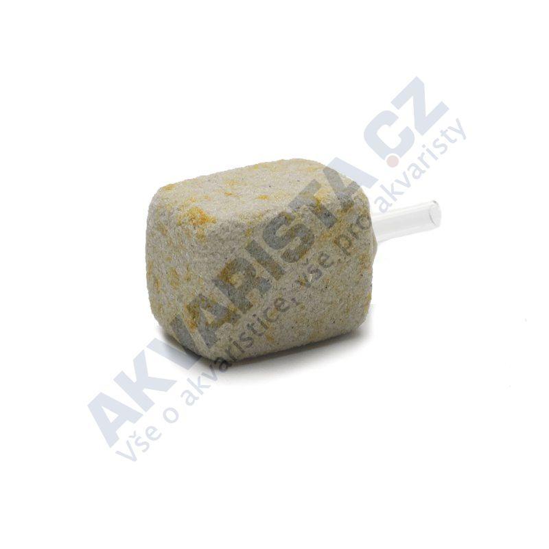 Přírodní vzduchovací kámen pískovec velikost 1 kostka