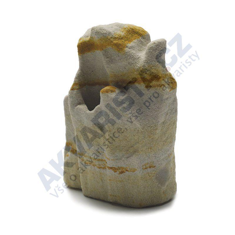 Přírodní vzduchovací kámen pískovec velikost 6 skalka