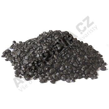 Písek akvarijní 2 - 4 mm - černý, 5kg