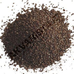 Písek akvarijní 1 - 2 mm - tmavě hnědý, 20kg