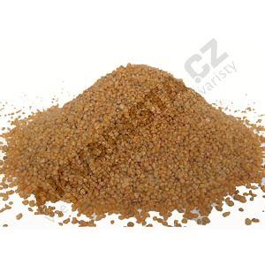 Písek akvarijní 1 - 2 mm - oranžový, 5kg