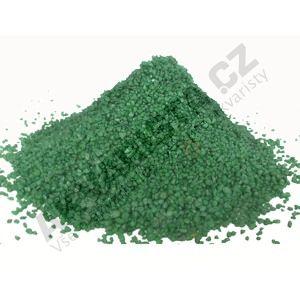 Písek akvarijní 1 - 2 mm - zelený, 25kg