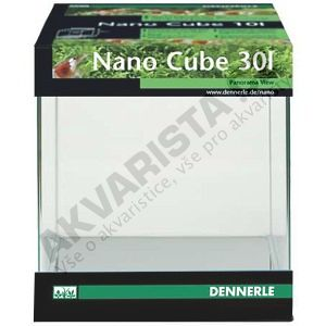 Dennerle akvárium NanoCube 10litrů, 20x20x25cm