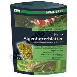 Dennerle Nano Algenfutterblätter 40ks