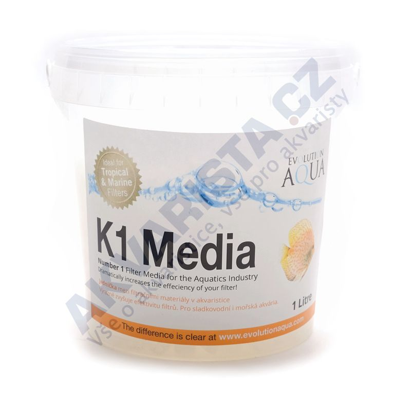 Evolution AQUA Kaldnes K1 filtrační médium 1000 ml