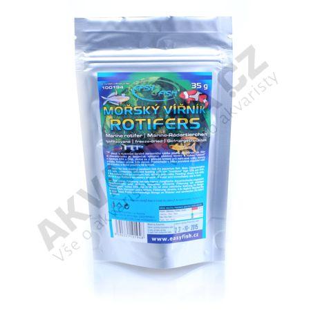 EasyFish Mořský vířník rotifers lyofilizovaný 35g (vakuovaný)