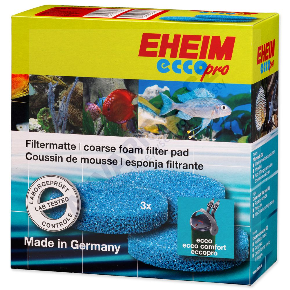 Eheim Ecco - Modrá filtrační vložka (3ks)