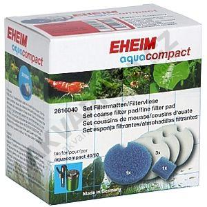 Eheim Aquacompact náhradní modrá a bílá filtrační vložka