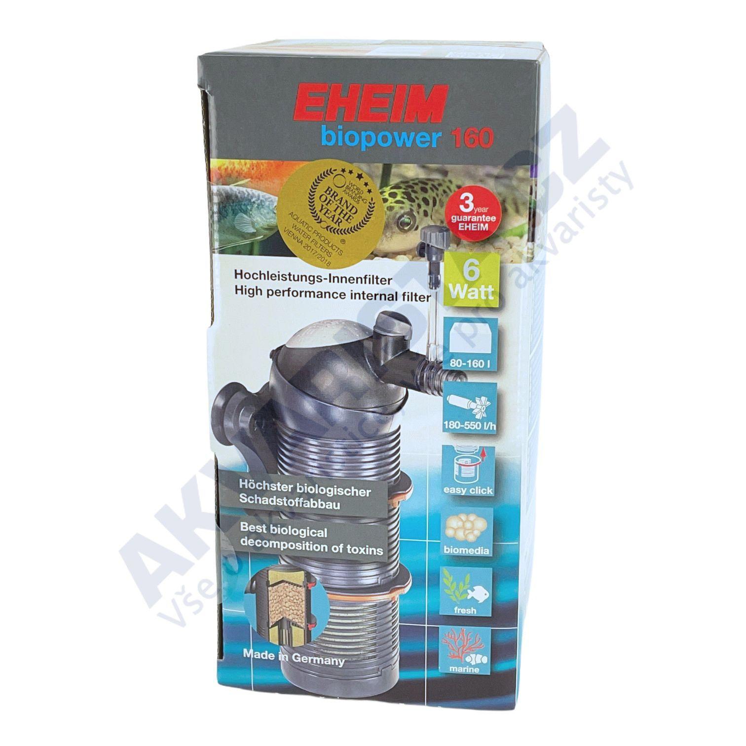 Eheim Biopower 160 (2411) pro akv. 80-160 l