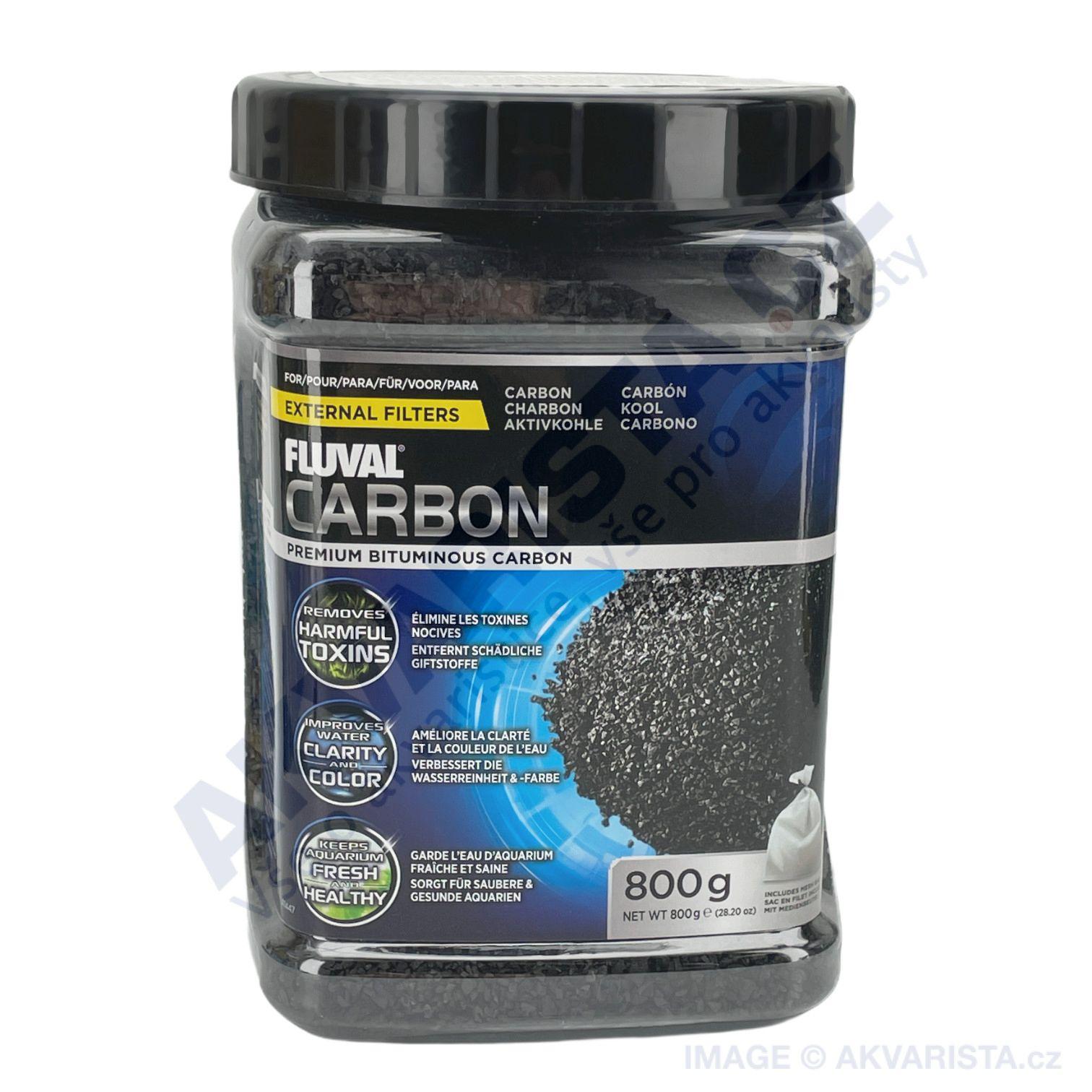 Fluval Aktivní uhlí 800g s filtračním sáčkem