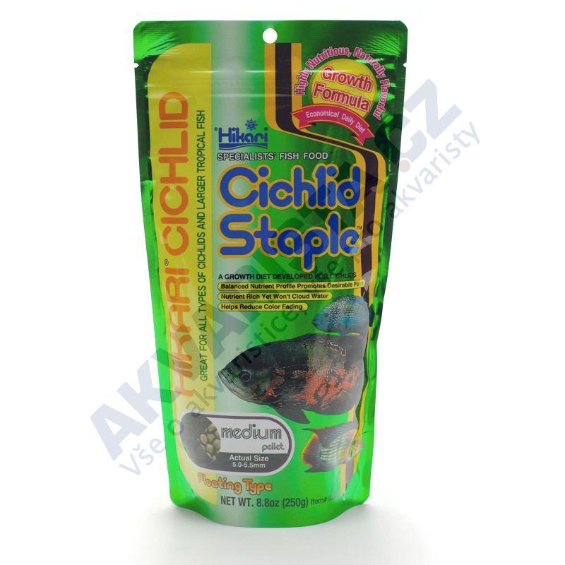Hikari Cichlid Staple Medium pellet 250g