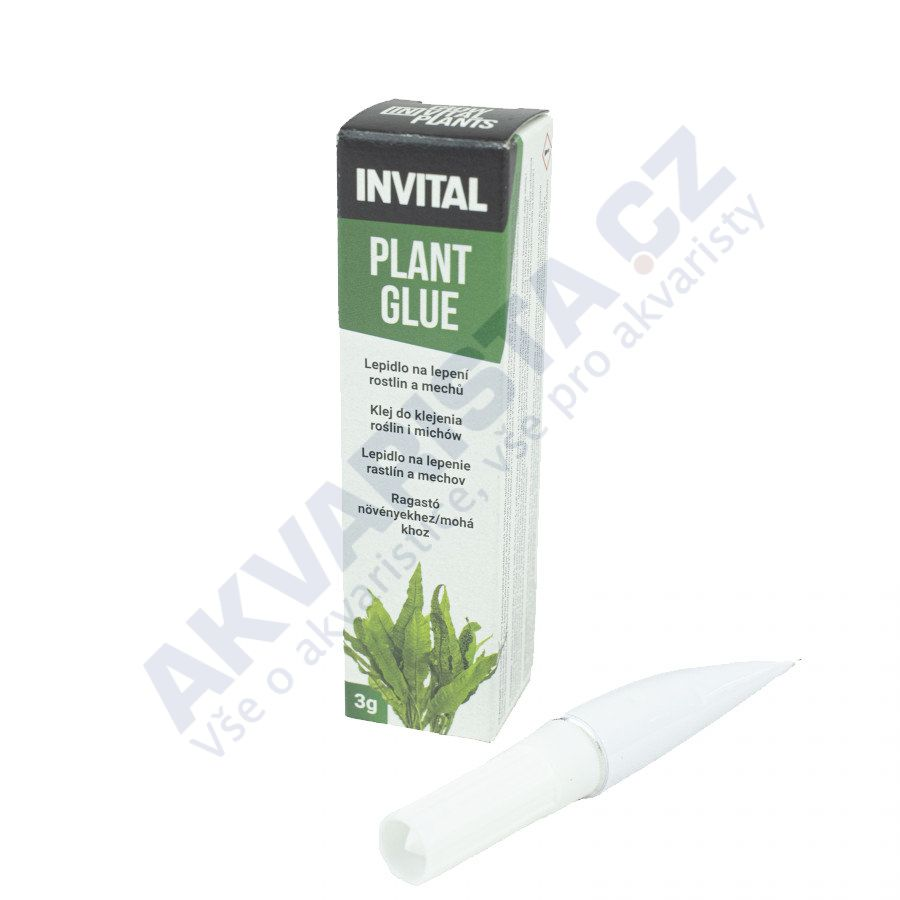 INVITAL Plant Glue - lepidlo na rostliny a mechy (3g)