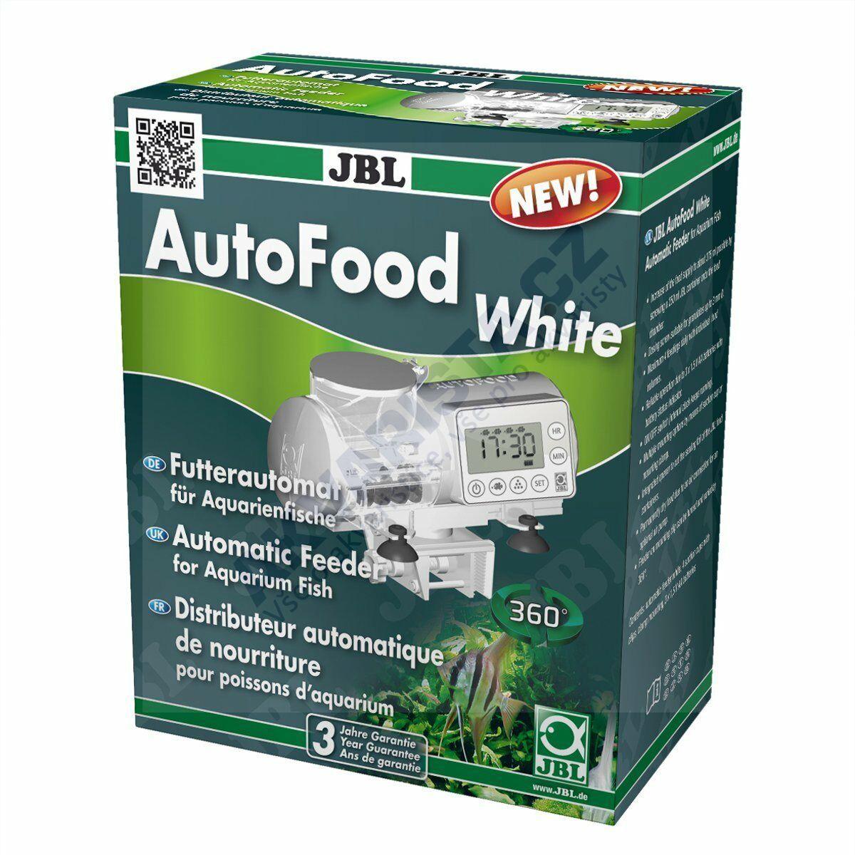 JBL AutoFood White automatické krmítko (bílé)