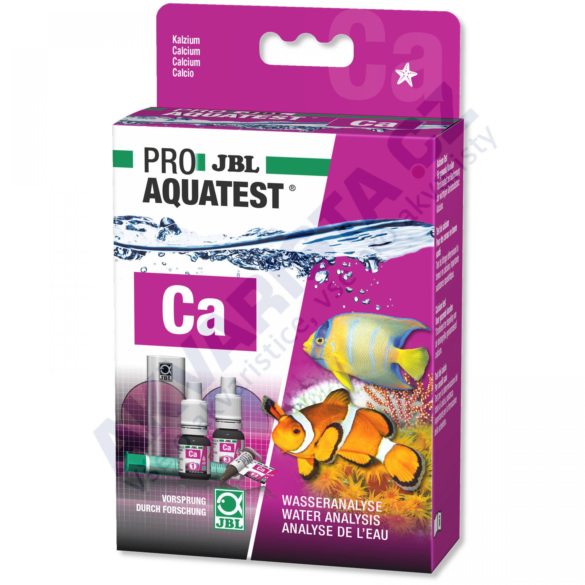 JBL PRO Aquatest Ca (vápník) pro mořská akvária